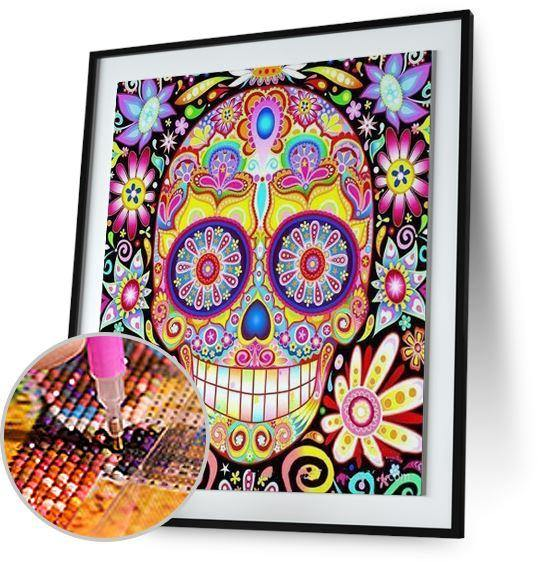 Sugar Candy Skull - New Offer Freeplus 5DArtist