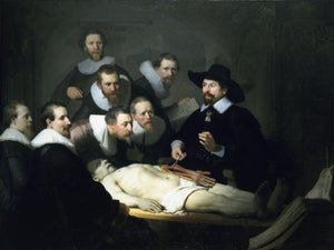 The Anatomy Lesson of Dr. Nicolaes Tulp - by Rembrandt - Diamond Painting Kit