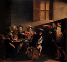 The Calling of Saint Matthew - by Caravaggio 5DArtist
