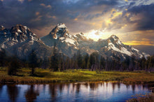 The Grand Tetons - by Kevin Carden - Diamond Painting Kit