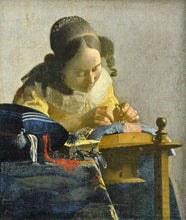 The Lacemaker - by Johannes Vermeer - Diamond Painting Kit