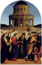The Marriage of the Virgin - by Raphael - Diamond Painting Kit
