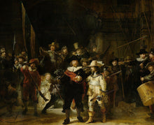 The Night Watch- by Rembrandt - Diamond Painting Kit