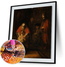 The Return of the Prodigal Son - by Rembrandt 5DArtist