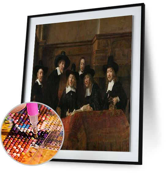 The Sampling Officials - by Rembrandt 5DArtist