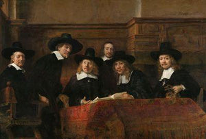 The Sampling Officials - by Rembrandt - Diamond Painting Kit