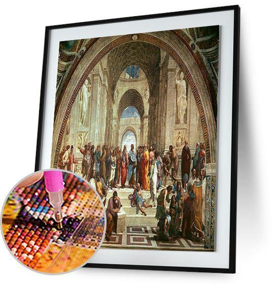 The School of Athens - by Raphael 5DArtist