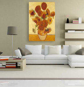 The Sunflowers - by Vincent van Gogh 5DArtist