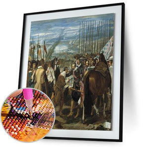 The Surrender of Breda - by Diego Velazquez 5DArtist