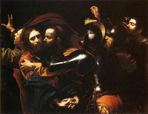 The Taking of Christ - by Caravaggio - Diamond Painting Kit