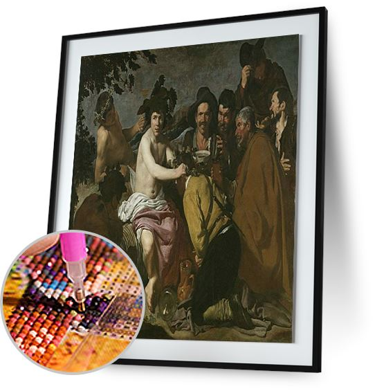 The Triumph of Bacchus - by Diego Velazquez 5DArtist