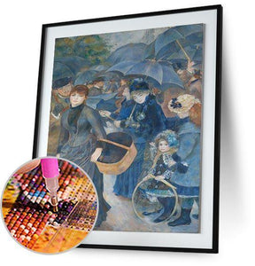 The Umbrellas - by Pierre-Auguste Renoir 5DArtist