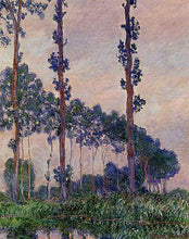 Three Trees in Grey Weather - by Claude Monet - Diamond Painting Kit