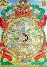 Tibetan Wheel of Life 5DArtist