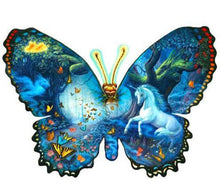 Unicorn and Butterfly 5DArtist