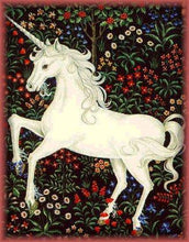Unicorn Flowers - Diamond Painting Kit