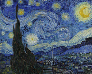 "Van Gogh Starry Night - New Offer Freeplus 5DArtist 6x8""/15x20cm (Low Details)"