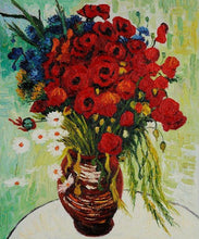 Vase with Daisies and Poppies - by Vincent van Gogh 5DArtist