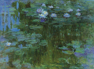 Water Lilies - by Claude Monet - Diamond Painting Kit
