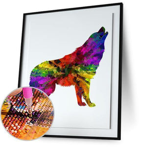 Wolf Colorful 5DArtist