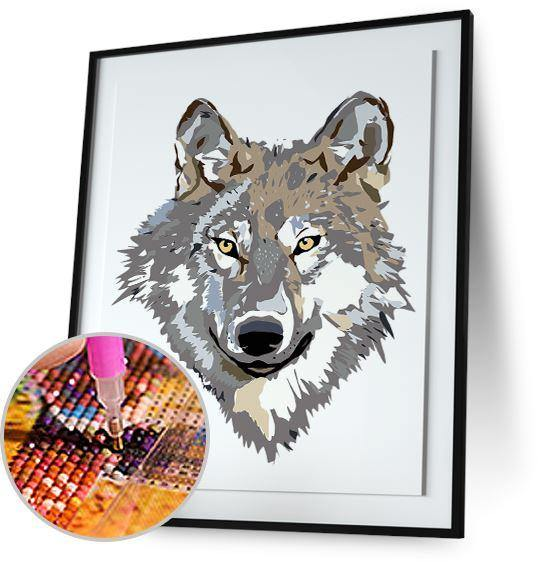 Wolf Face 5DArtist
