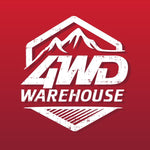 4WD Warehouse Logo. Ute Drawers & Camper Trailers