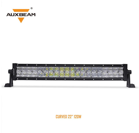 "22"" Curved CREE LED Light Bar 5D Lens 12000LM"