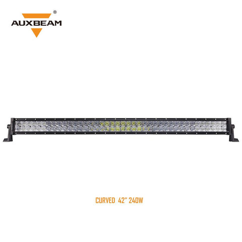 "42"" Curved CREE LED Light Bar 5D Lens 24,000LM"