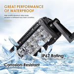 "52"" Straight LED CREE Light Bar Combo with 5D Lens-300W 30000LM"
