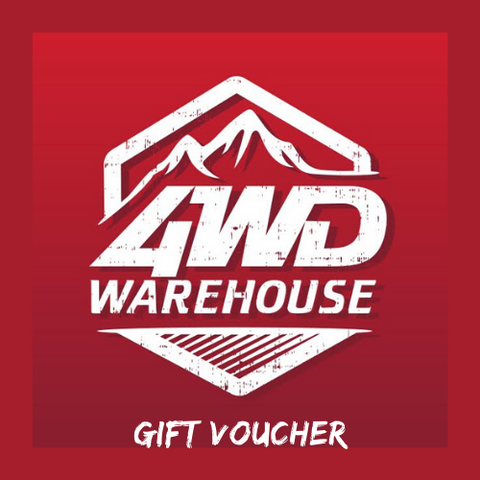 4WD Warehouse Gift Voucher