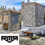 RMR 1.4m x 2m Rear Awning Tent COMBO