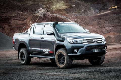 Toyota Hilux 07/2015 Onwards - Safari ARMAX Snorkel SS123HP