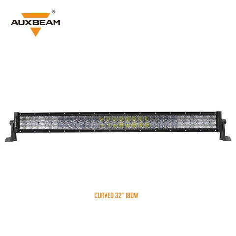 "32"" Curved CREE LED Light Bar 5D Lens 18,000LM"