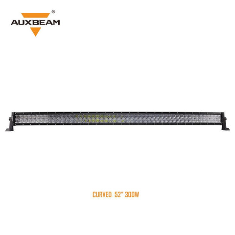 "52"" Curved LED Light Bar CREE Combo with 5D Lens-300W 30,000LM"