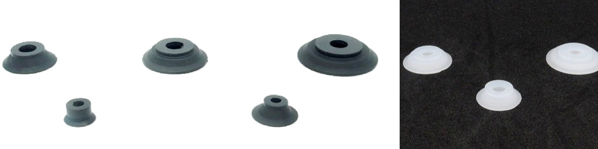 Flat Suction Cups - ASMT Series | Rubber Shop