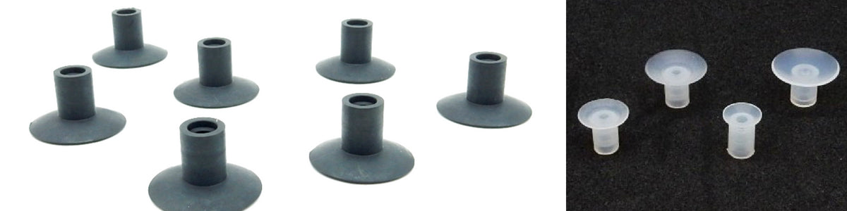 Flat Suction Cups - AST Series | Rubber Shop