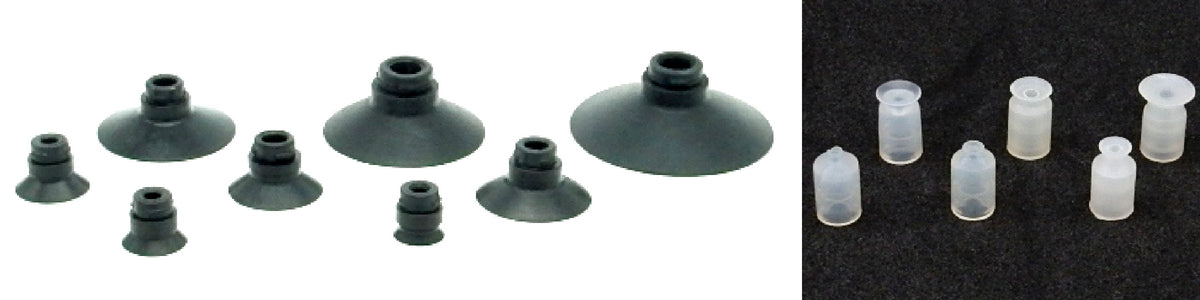 Flat Suction Cups - ASU Series | Rubber Shop