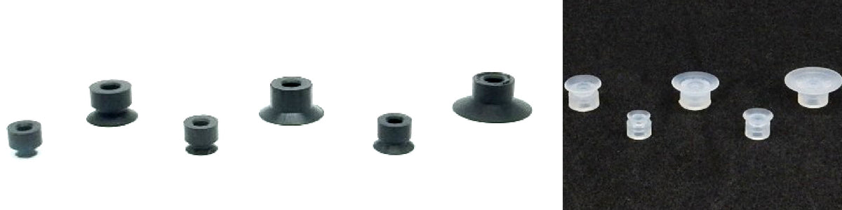 Flat Suction Cups - ASUM Series | Rubber Shop