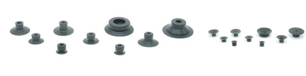 Flat Suction Cups - ACA Series | Rubber Shop
