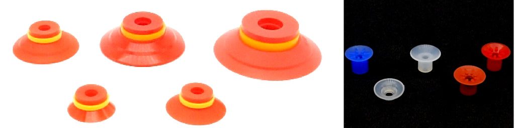 Flat Suction Cups - AXL Series | Rubber Shop