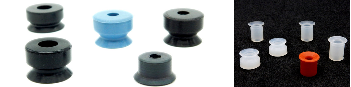 Flat Suction Cups - AXN Series | Rubber Shop