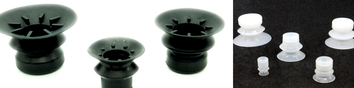 Bellows Suction Cups - BPB Series | Rubber Shop
