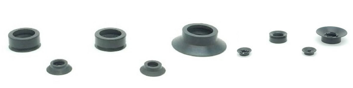 Flat Suction Cups - ACU Series | Rubber Shop