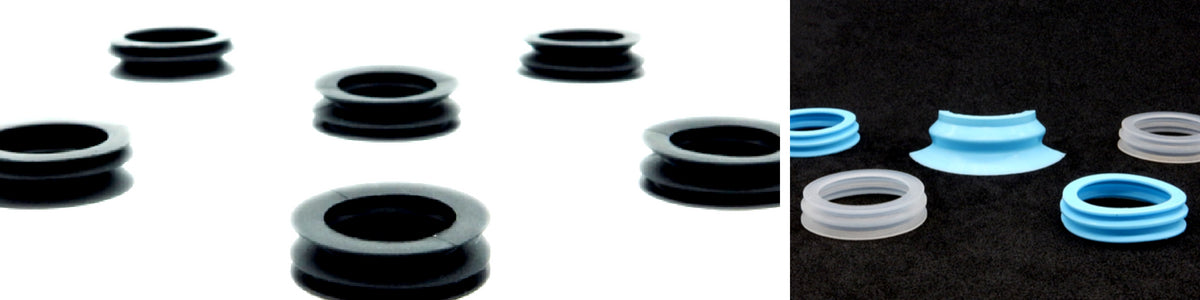 Bellows Suction Cups - BXN Series | Rubber Shop
