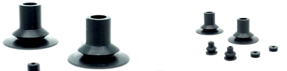 Bellows Suction Cups - BXS Series | Rubber Shop