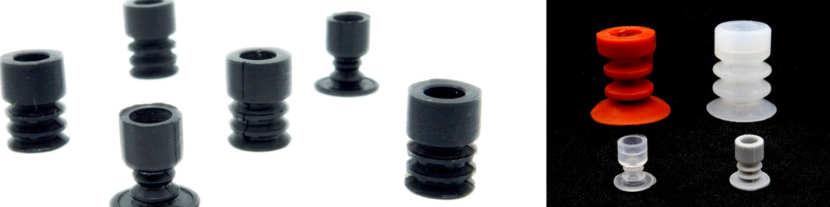 Multibellows Suction Cups - MLG Series | Rubber Shop