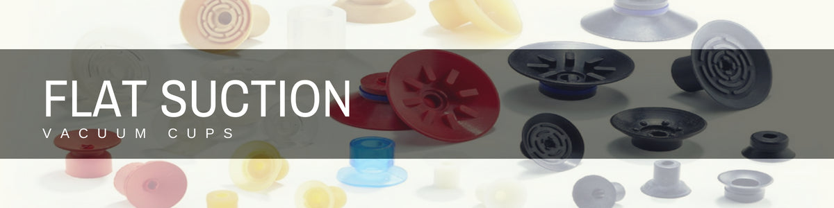 Flat Suction Cups | Rubber Shop