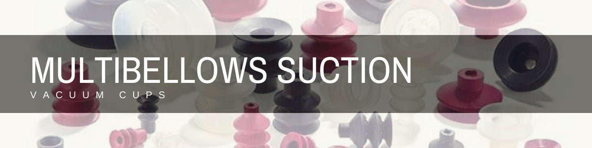 Multibellows Suction Cups | Rubber Shop