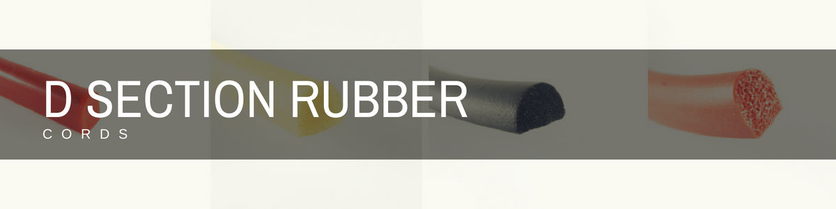 D Section Rubber Cords | Rubber Shop