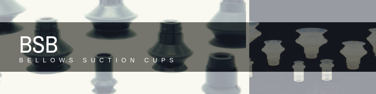 Bellows Suction Cups - BSB Series | Rubber Shop